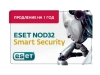 ESET NOD32 Smart Security - лицензия на 1 год на 3ПК